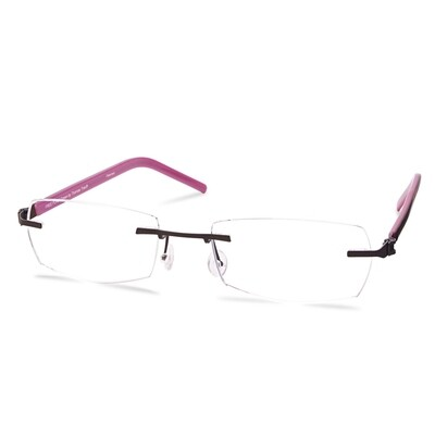 Green Rimless FFA 961 Brown   (50-18-140 mm) size S
