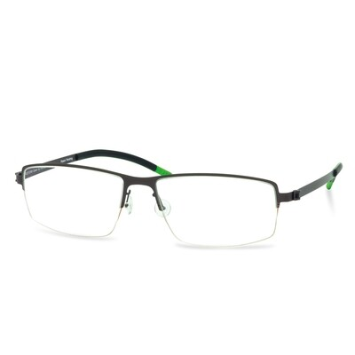 Green Semi Rim FFA 902 Brown  (57-17-145 mm)  size L