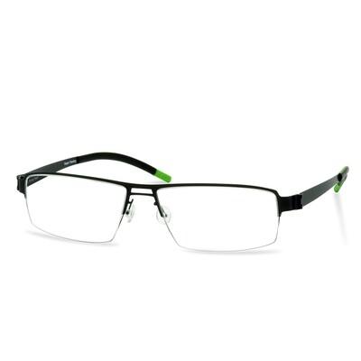 Green Semi Rim FFA 903 Black  (56-17-145 mm)  size L