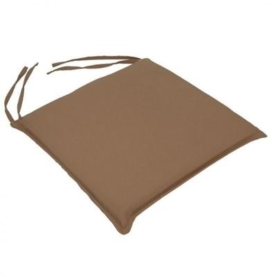 Μαξιλάρι Καρέκλας Μονόχρωμο Μπεζ - Be Comfy