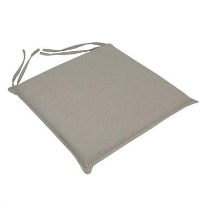 Μαξιλάρι Καρέκλας Μονόχρωμο Εκρού - Be Comfy