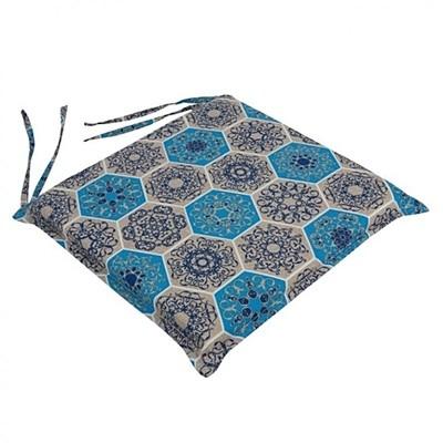 Μαξιλάρι Καρέκλας Vintage Μπλε - Be Comfy