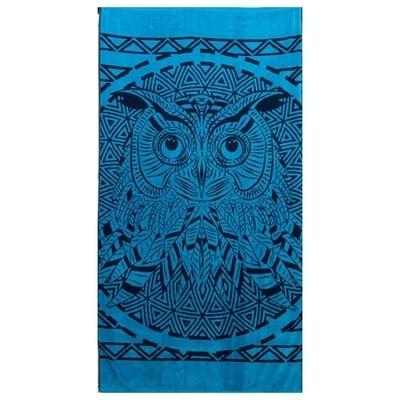 Πετσέτα Θαλάσσης Ζακάρ Owl 064 - Komvos
