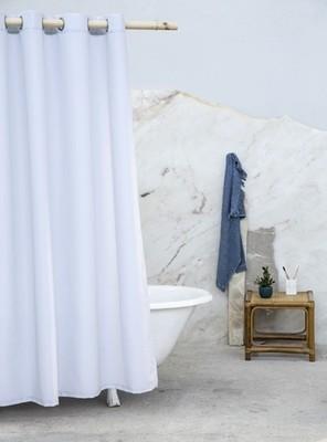 Κουρτίνα Μπάνιου Υφασμάτινη 180Χ180 εκ. Essential Gray - Nima Home