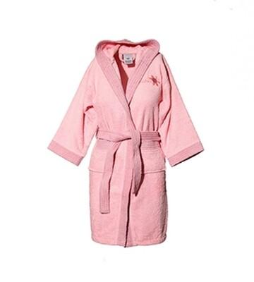 Μπουρνούζι Παιδικό-Εφηβικό Line Pink - Sunshine