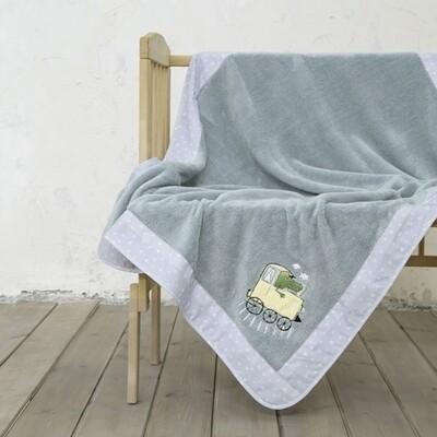 Κουβέρτα Κούνιας Fleece με Φάσα Baby Express - Nima Home
