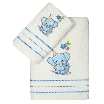 Σετ Πετσέτες 2 τεμ. Elephant Blue