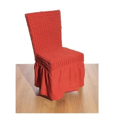 Κάλυμμα Καρέκλας Γκοφρέ Ελαστικό Brick