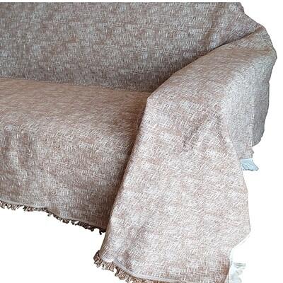 Ριχτάρι Μονοθέσιο Madrid Light Brown - Cotton