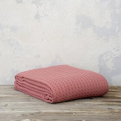 Κουβέρτα Μονή 160Χ240 εκ. Habit Terracota - Nima Home