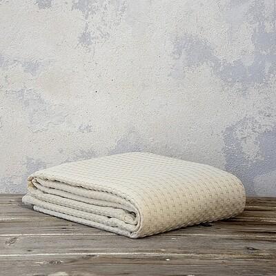 Κουβέρτα Υπέρδιπλη 220Χ240 εκ. Habit Sand Beige - Nima Home