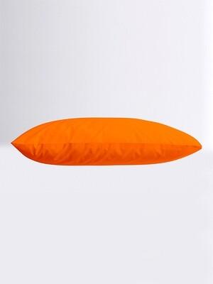 Μαξιλαροθήκες Ζευγάρι Μονόχρωμες Menta 07 Orange - Sunshine