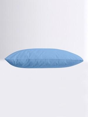 Μαξιλαροθήκες Ζευγάρι Μονόχρωμες Menta 17 Blue - Sunshine