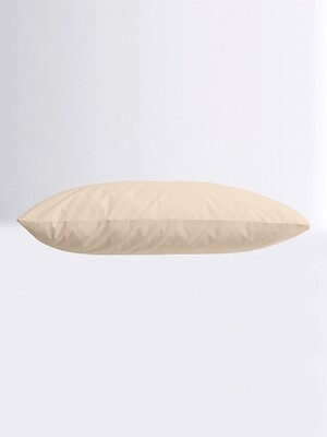 Μαξιλαροθήκες Ζευγάρι Μονόχρωμες Menta 22 Sand - Sunshine