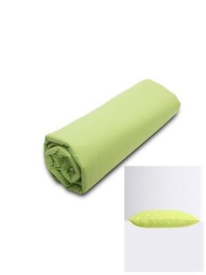 Σετ Κατωσέντονο Λάστιχο Μονό & 2 Μαξιλαροθήκες Green Menta - Sunshine