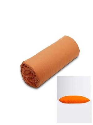 Σετ Κατωσέντονο Λάστιχο Μονό & 2 Μαξιλαροθήκες Orange Menta - Sunshine