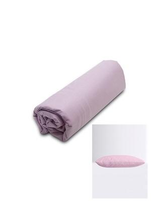 Σετ Κατωσέντονο Λάστιχο Υπέρδιπλο & 2 Μαξιλαροθήκες  Lilac Menta - Sunshine