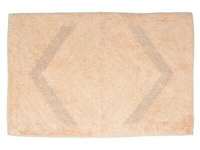 Πατάκι Μπάνιου 60Χ90 εκ. Cotton Salmon - Sunshine