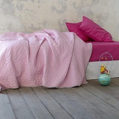 Κουβερλί Μονό Tuggle Pink - Nima Home