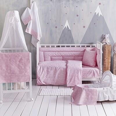 Σετ Σεντόνια Κούνιας Bright Pink - Rythmos