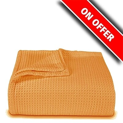 Κουβέρτα Πικέ Υπέρδιπλη Orange - Sunshine
