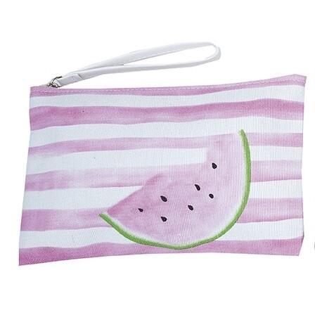 Τσαντάκι Σταμπωτό Fruits 23Χ17 εκ. 2766 S Καρπούζι Ροζ - Ilis Home