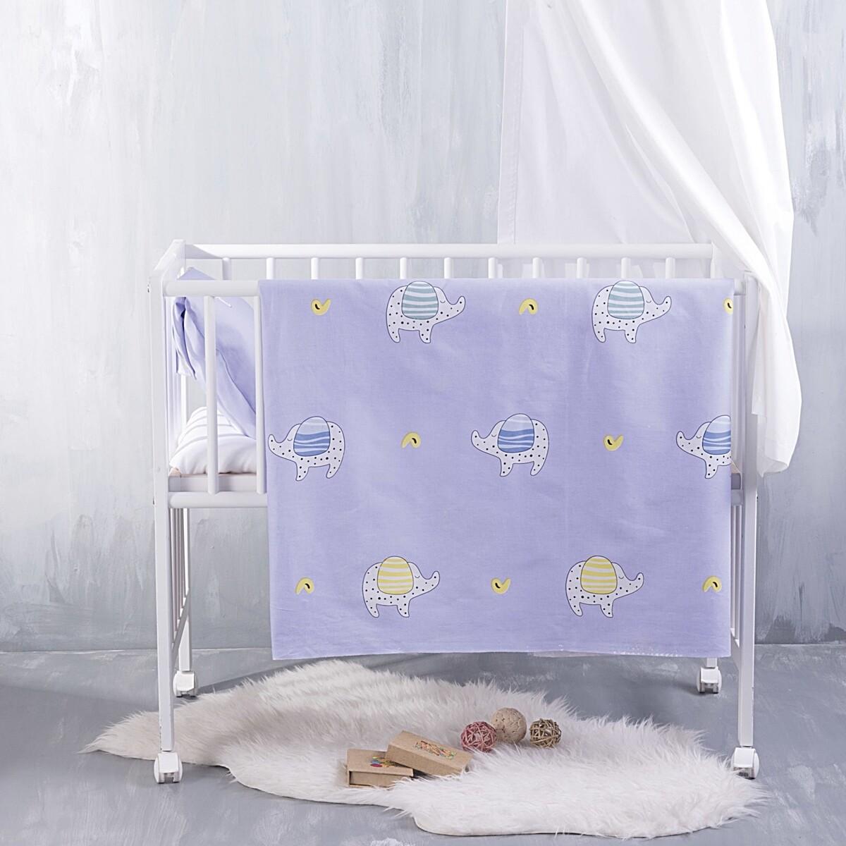 Σεντόνι Λίκνου Wooly Blue - Rythmos