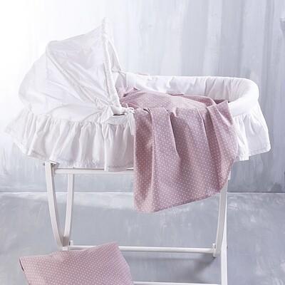 Σεντόνι Λίκνου Dotty Pink - Rythmos