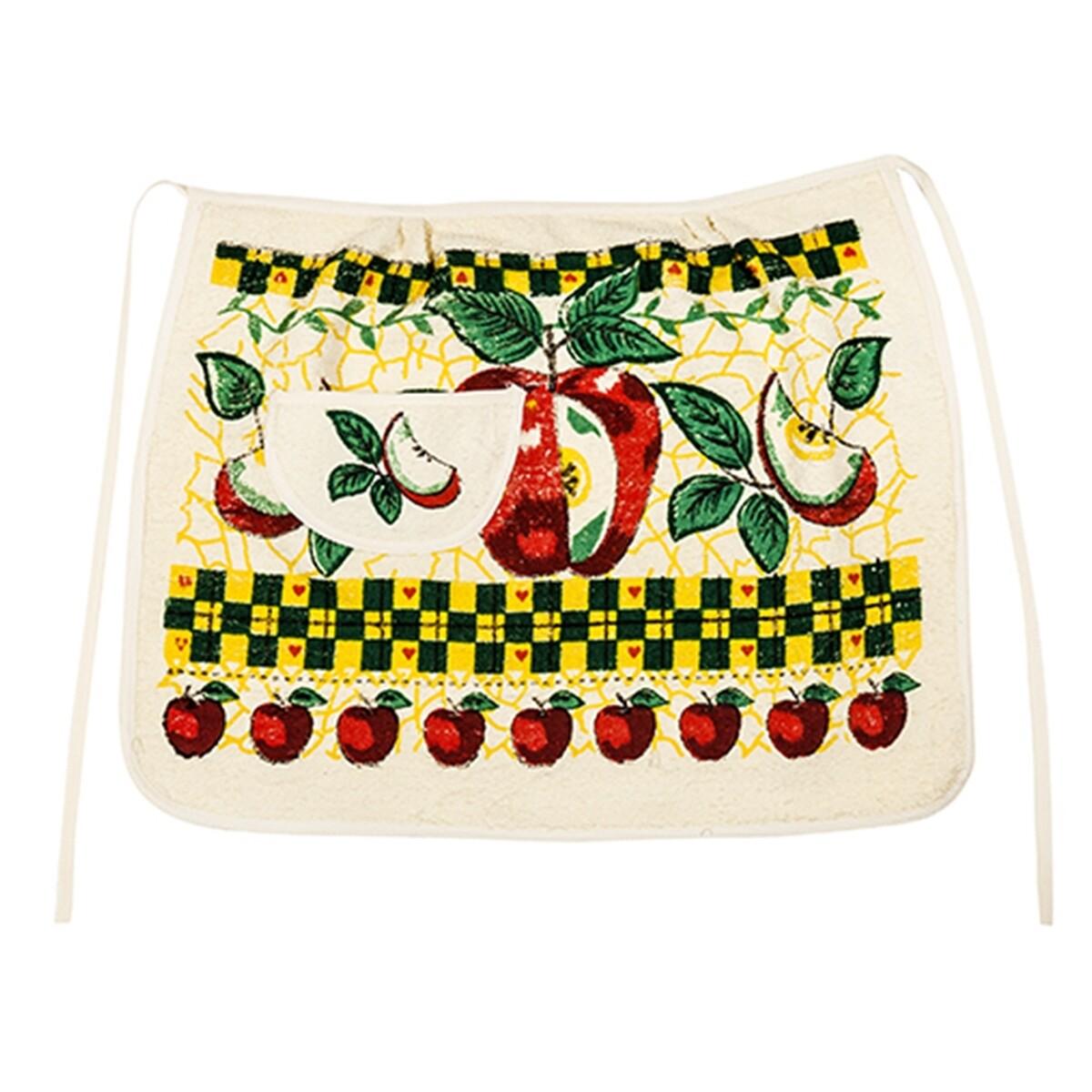 Ποδιά Μισή Μήλο - Cotton Senses