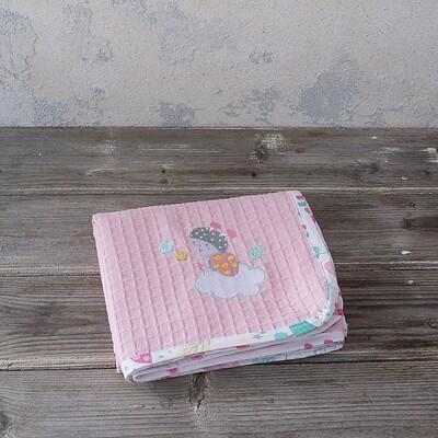 Κουβέρτα Πικέ Λίκνου Apiary - Nima Home