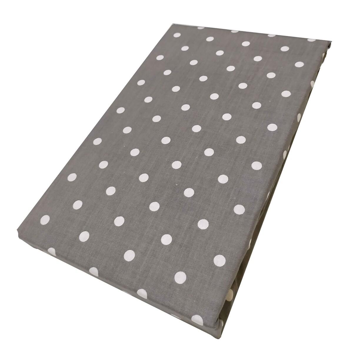Μαξιλαροθήκες Ζευγάρι Dots Gray - Komvos
