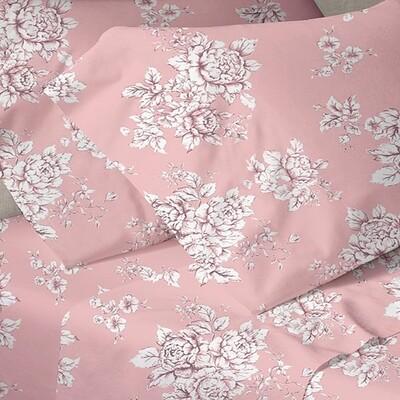Παπλωματοθήκη Μονή Menta 960 Pink - Sunshine