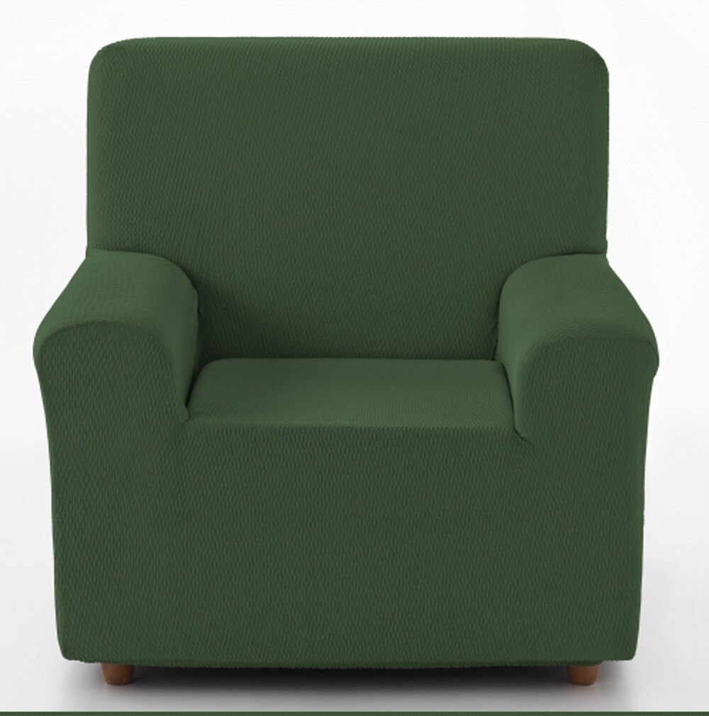 Κάλυμμα Πολυθρόνας Tunez Πράσινο Λύκρα Ελαστικό