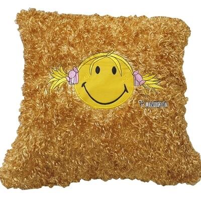 Μαξιλάρι Με Γέμιση Smiley Face Yellow - Komvos