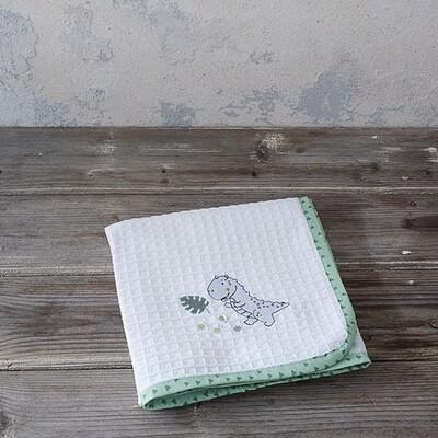 Κουβέρτα Πικέ Λίκνου Baby T Rex - Nima Home