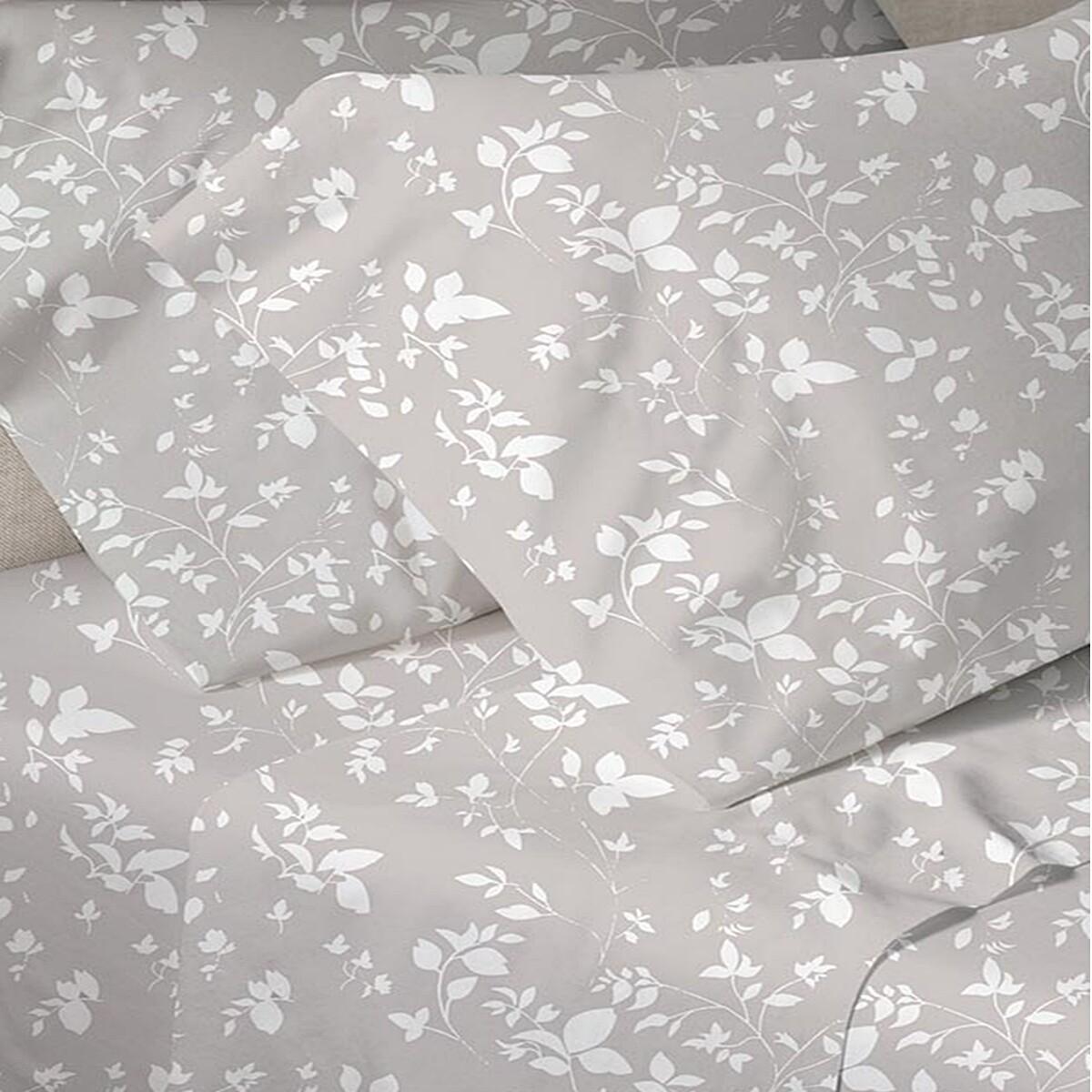 Μαξιλαροθήκες Ζευγάρι Menta 040 Gray - Sunshine