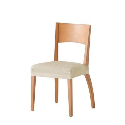 Σετ 2 τεμ. Κάλυμμα Κάθισμα Καρέκλας Ελαστικό Tunez Εκρού - Mc Decor