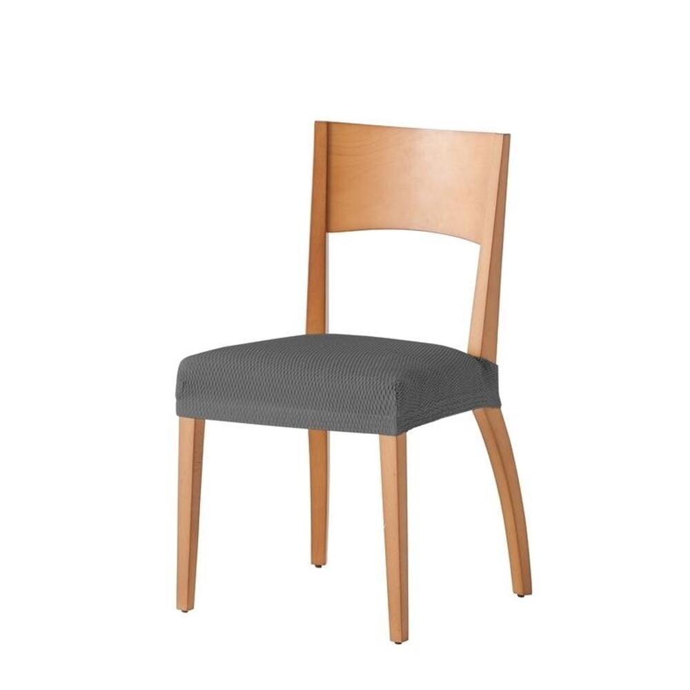 Σετ 2 τεμ. Κάλυμμα Κάθισμα Καρέκλας Ελαστικό Tunez Γκρι - Mc Decor