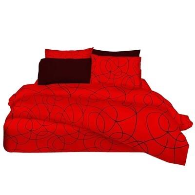 Μαξιλαροθήκες Ζευγάρι Target Red Βαμβάκι 100% - Cotton Senses