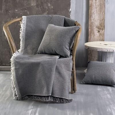Ριχτάρι Μονοθέσιο Miller Gray - Cotton
