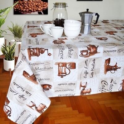 Καρέ 85Χ85 εκ. Espresso - Ilis Home