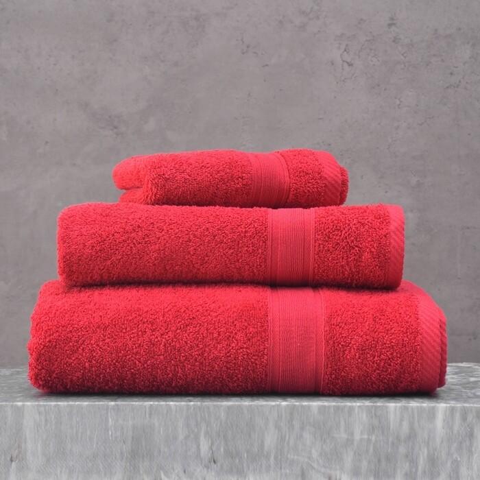 Πετσέτα 30Χ50 εκ. Illusion Κόκκινο - Rythmos
