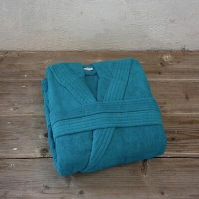 Μπουρνούζι Velour Zen Blue - Nima Home