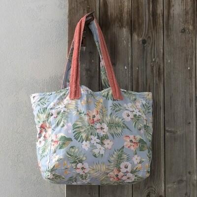 Τσάντα Θαλάσσης Δύο Όψεων Jungle Flower - Nima Home