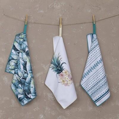 Σετ Πετσέτες Κουζίνας 3 τεμ. Azure - Nima Home