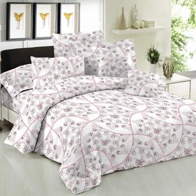 Παπλωματοθήκη Μονή Cotton Line Rosella Pink - Komvos