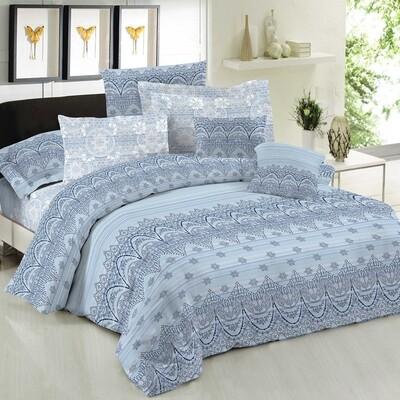 Πάπλωμα Διπλό Cotton Line Dante Blue - Komvos