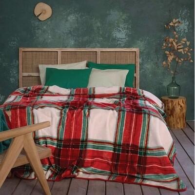 Κουβέρτα Βελουτέ Μονή Lareira - Nima Home