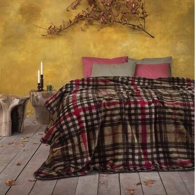 Κουβέρτα Βελουτέ Μονή Edward - Nima Home