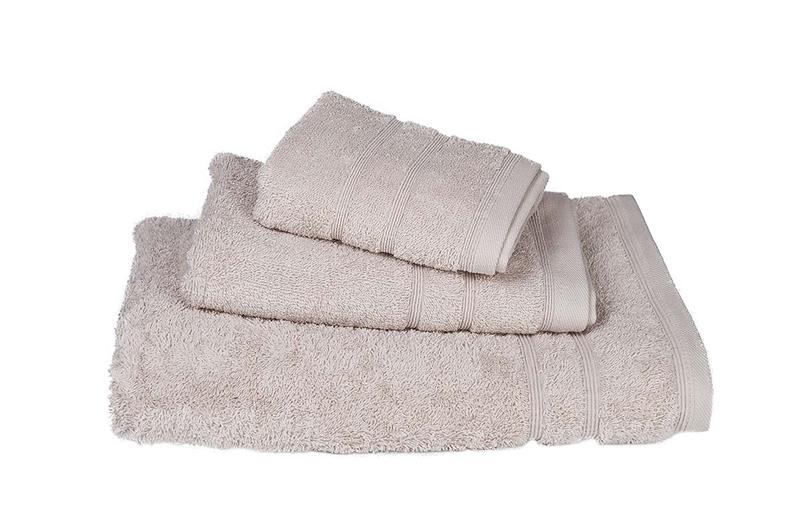 Πετσέτα Χειρός Μονόχρωμη Πενιέ 500 gr/τμ Μπεζ - Komvos